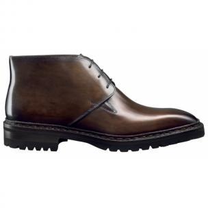 Santoni Yukon 3 Chukka Boots Dark Brown Image