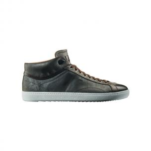 Santoni Zeus CG9 High Top Sneakers Gray Image