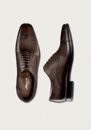 Santoni Shoes Orrin Cap Toe Lace Up Image