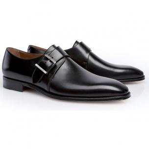 Stemar Monk Strap Shoes Black Image