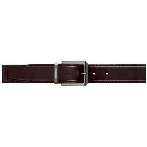 Stemar Milano Calfskin Belt Dark Brown Image