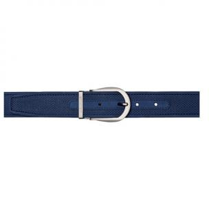 Stemar Panarea Perforated Nubuck Belt Blue Image