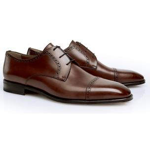 Stemar Perugia Cap Toe Shoes Tan Image