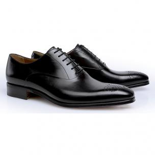 Stemar Siena Medallion Toe Oxfords Black Image