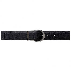 Stemar Trento Grained Calfskin Belt Black Image