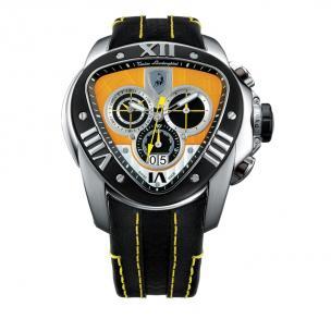 Tonino Lamborghini Spyder 1017 Chronographic Watch Black/Yellow Image