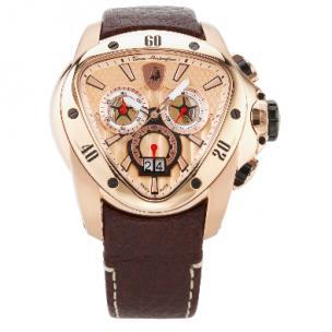 Tonino Lamborghini Spyder 1105 Chronographic Watch Gold Image