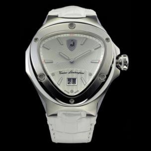 Tonino Lamborghini Spyder 3030 3-Hand Watch White Image