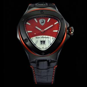 Tonino Lamborghini Spyder 3038 3-Hand Watch Red Image