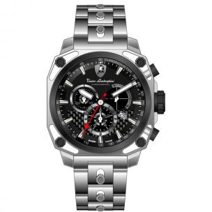 Tonino Lamborghini 4 Screws 4830 Chronographic Watch Black Image