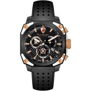 Tonino Lamborghini 4 Screws 4850 Chronographic Watch Black Image
