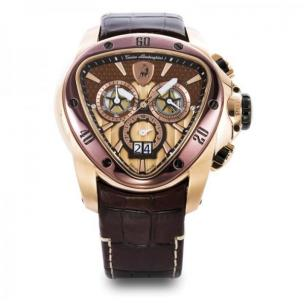 Tonino Lamborghini Spyder 1120 Chronographic Watch Gold/Brown Image