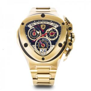 Tonino Lamborghini Spyder 3010 Stainless Steel Chronographic Watch Gold Image