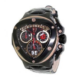 Tonino Lamborghini Spyder 3015 Chronographic Watch Black Image