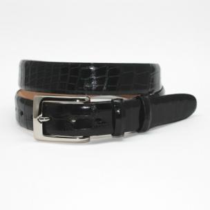 Torino Leather Genuine Alligator Belt Black Image