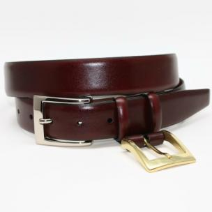 Torino Leather Calfskin Belt Cordovan Image