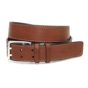 Torino Leather Deertan Side Leather Belt Tan Image