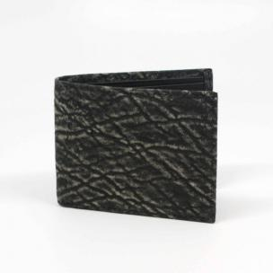 Torino Leather Elephant Billfold Wallet Charcoal Image