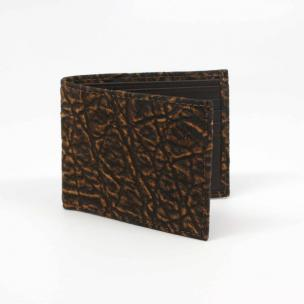 Torino Leather Elephant Billfold Wallet Cognac Image