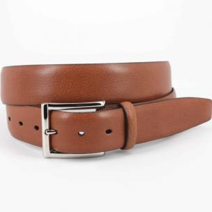 Torino Leather Italian Glazed Milled Calfskin Belt Luggage Image