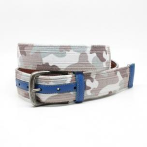 Torino Leather Tri Layer Camoflague Belt Urban Image