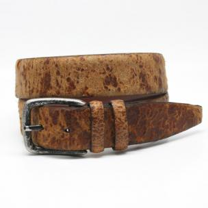 Torino Leather Vintage Cowhide Belt Tan Image