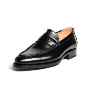Ugo Vasare Albert Apron Toe Shoes Black Image