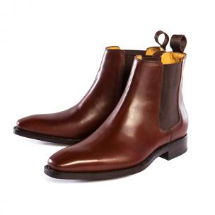 Ugo Vasare Americano Chelsea Boots Brown Image