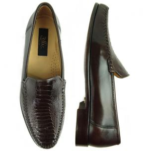 Zelli 471 Ostrich & Nappa Loafers Brown Image
