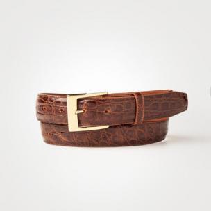 Zelli Classic Crocodile Belt Image
