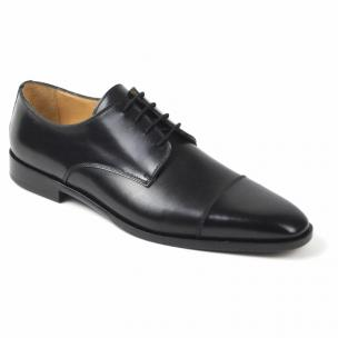 Zelli Enzo Cap Toe Shoes Black Image