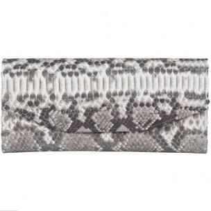 Zelli Georgina Genuine Python Wallet Natural Image