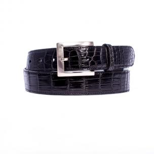Zelli Nile Crocodile Belt Black Image