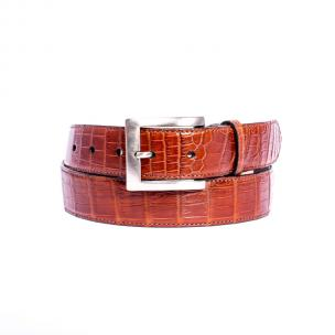 Zelli Nile Crocodile Belt Cognac Image