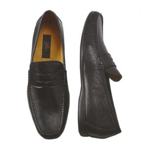 Zelli Caprice Deerskin Loafers Black Image